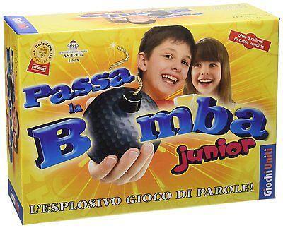 Passa la Bomba! Junior - Gioco da Tavolo party game in italiano Giochi Uniti