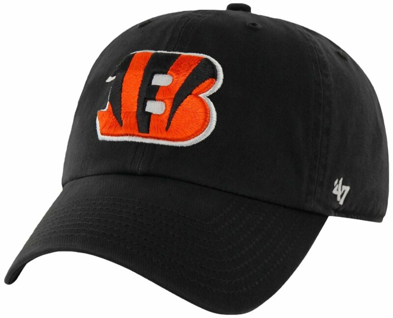 Cincinnati Bengals '47 Brand Clean Up Adjustable Hat Cap