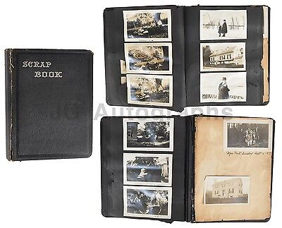 Early 20th Century Photography - Original Family Photo Scrap Book - Circa - Early 20th Century Photography