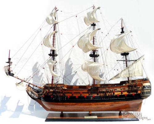 "Wappen Von Hamburg III Display Wooden Ship Model 37"""