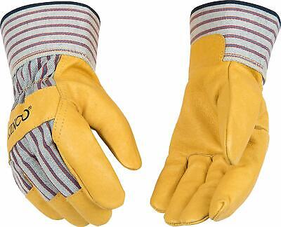 Kinco 1917 Mens Pigskin Leather Palm Work Glove Size Xlarge