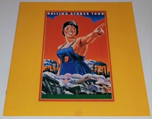 Rolling Stones 1978 Some Girls Tour Concert Program