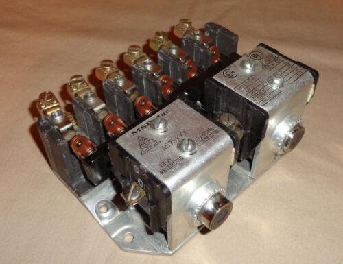 MSD A575KXX REVERSING CONTACTOR 120V 60Hz NEW