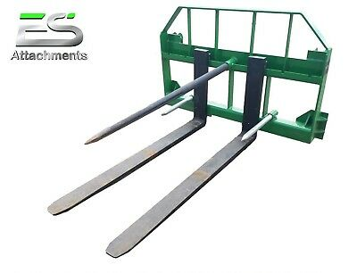 Es John Deere Combo 49 Spear And 48 Pallet Forks Jd Quick Attach Local Pick-up