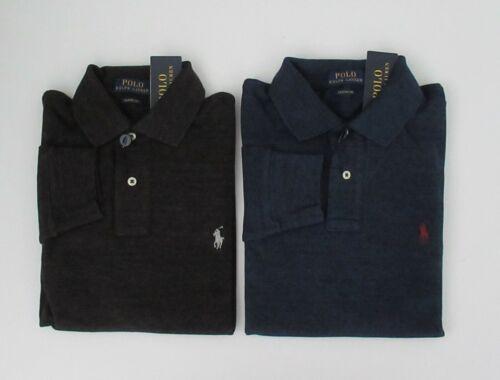 NWT Ralph Lauren Mens Classic Fit Long Sleeve Mesh Polo Shirt M L XL 2XL NEW $90