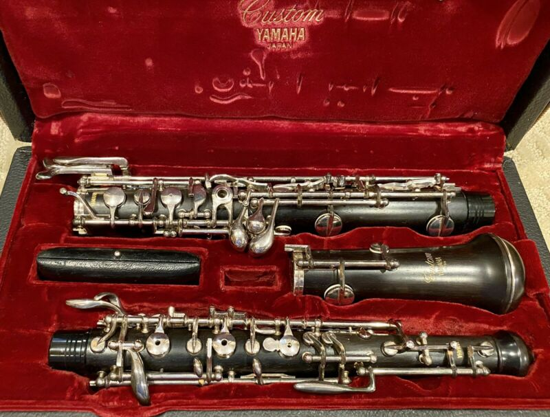 Yamaha YOB 821 Professional Oboe With Third Octave. Recently Serviced!