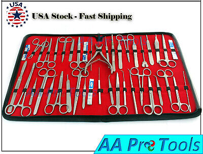 76 Pc Us Military Field Minor Surgery Surgical Veterinary Dental Instruments Kit