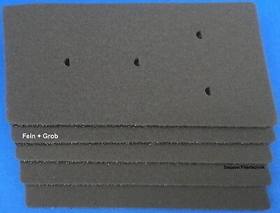 2x Schaumstoff-Filter für Bauknecht EcoGreen 95