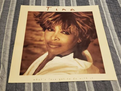 TINA TURNER - WHAT'S LOVE GOT TO DO WITH IT -1993 - EMI RECORDS CANADA  POSTER