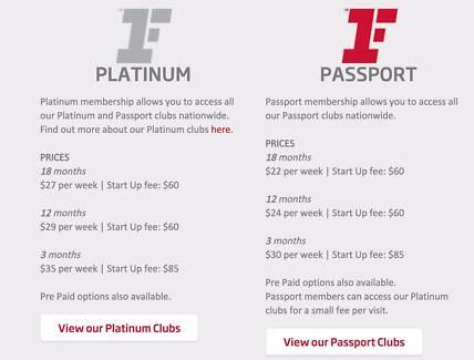 Fitness First Passport Membership Transfer