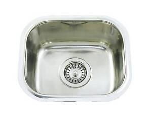 CM3 Undermount Single Bowl 10L Stainless Steel Bar Kitchen Sinks Melbourne CBD Melbourne City Preview