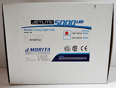 Jetlite 5000 Led Dental Curing Light Unit J.morita 100-120 V Ac 5060hz