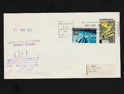 OPC 1972 Australia Melbourne MS Nella Dan Antarctic Expedition Supply Vessel