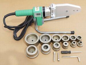 110V - 800W Pipe Fusion Welding Tool w/ Case & 6 Sockets - PPR PE HDPE