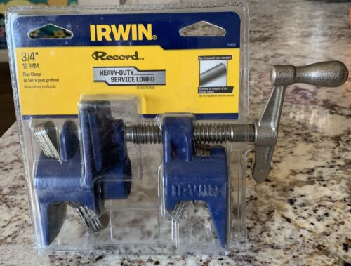 IRWIN Tools Record Pipe Clamp, 3/4-inch 224134  - $9.95