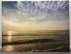 Canvas of sunset over the ocean Temora Temora Area Preview