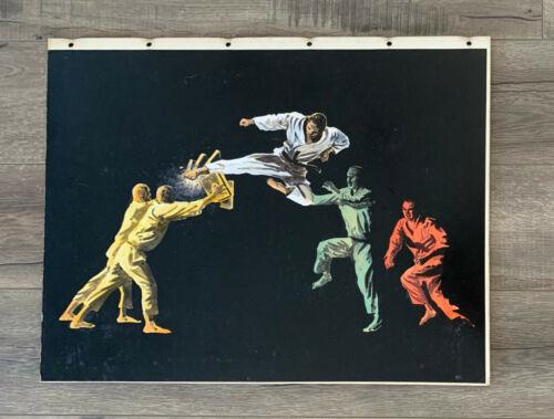 Original Storyboard Concept Art by Nikita Knatz Akido and Judo