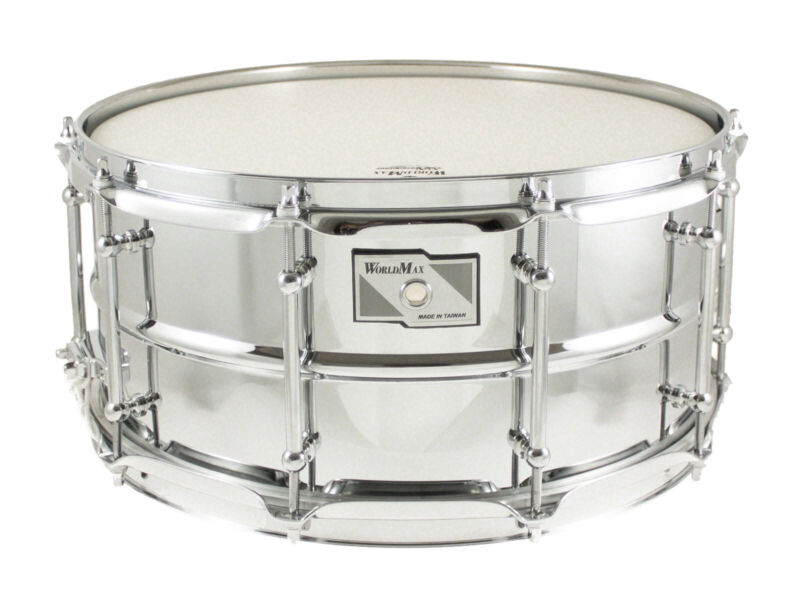 Worldmax 14 x 6.5 Steel Snare Drum WMS CLS-6514SH