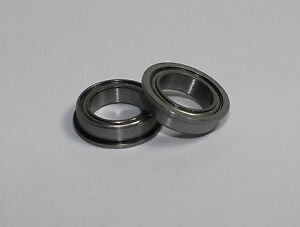 Ceramic-Ball-Bearing-6x12x4mm-Flanged-2-pcs