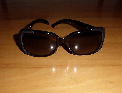 JIL SANDER Sonnenbrille UV400 Rahmen Kunststoff schwarz/silber Applikation - NEU