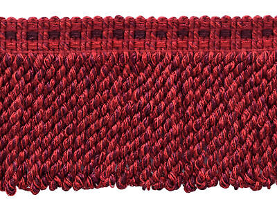 18 Yard Paket | Maroon Schwarzkirsche Chinesisch Rot | 3