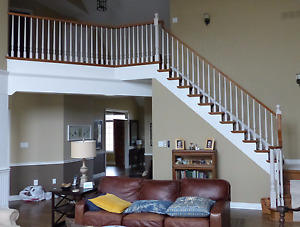 stair spindles and railings