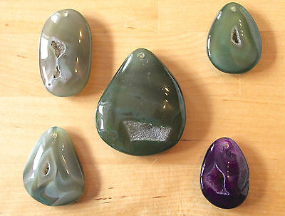 Drusy Agate - Pendants/Cabochons  (Packs of Approx 700 Carat Weight)