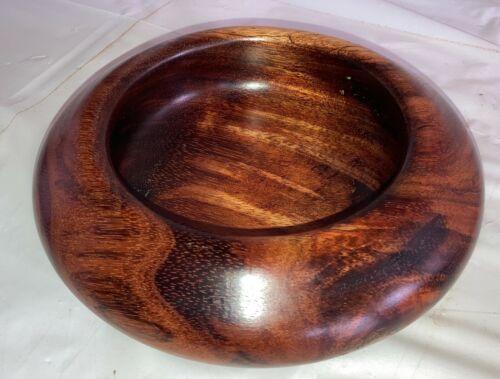 Hawaiian KOA Wood Art Bowl~ Collector Quality~ Great Gift Idea (#521-7)