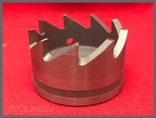 """California Aircraft Tool Co. 9-Tooth Hole Saw - AT414-17 1-3/8"""""""
