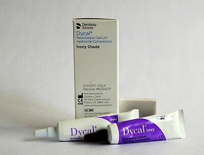 Dycal Calcium Hydroxide Ivory Shade Standard Package By Dentsply Sale