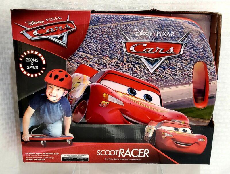 Nextsport Disney Cars Lightning Mcqueen Disney Scoot Racer Caster Board NIB