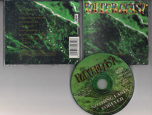 POLTERGEIST-Nothing-lasts-forever-CD-rare-reissue-Thrash-metal-Destructor