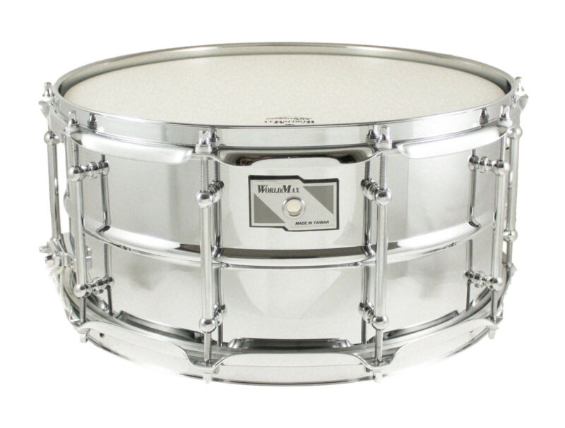 Worldmax 14 X 5.5 Beaded 1mm Steel Snare Drum WMS CLS-5514SH