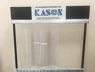 Kason Door Strip Curtains 42x84 Walk - In Freezer