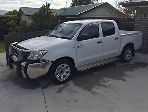 2008 Toyota hilux dual cab Eden Bega Valley Preview