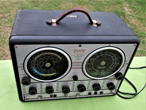 Vintage TRIPLETT 3434-A TV-FM Sweep Generator & Marker-AS IS-L@@K!