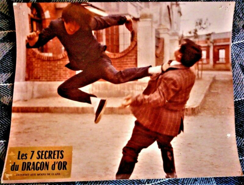 1973 -the 7 SECRETS of the GOLDEN DRAGON - film by KUNG FU - forbidden - 13...