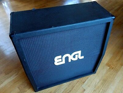 Engl Guitar Amplifiers - ENGL 412 Slanted Guitar Amplifier Speaker Cabinet Cab Made-in-Germany 4x12 200W