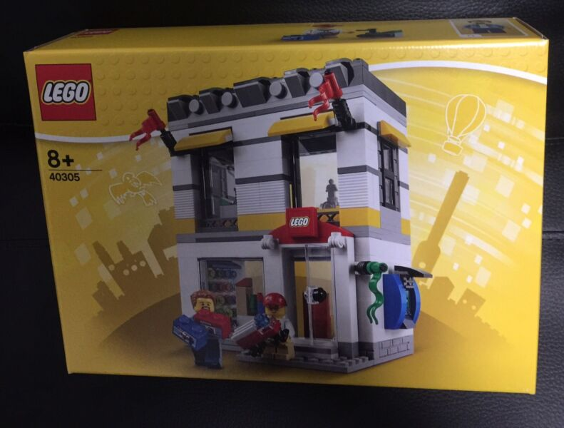 LEGO 40305 Microscale Lego Brand Store BRAND NEW SEALED EXCLUSIVE