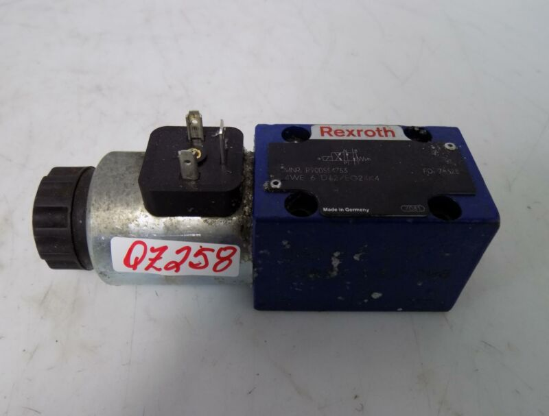 REXROTH HYDRAULIC DIRECTIONAL CONTROL VALVE R900554753