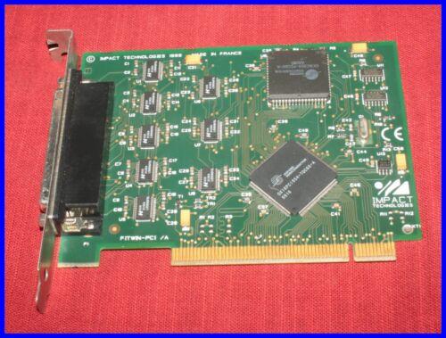 VINTAGE IMPACT TECHNOLOGIES FWNPCI8 FITWIN-PCI/A PCI Card