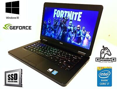 DELL GAMING LAPTOP 12GB RAM intel core i7 SSD 256GB Nvidia geforce 720m 2GB