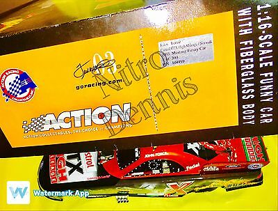 NHRA JOHN FORCE 1:16 Action NITRO Funny Car Diecast HALLOWEEN Drag Racing