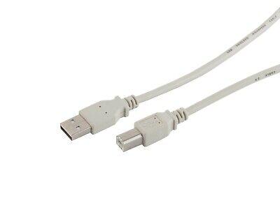 USB-Druckerkabel 0,25m - 5m Typ A-St. auf B-St. USB-Kabel 2.0 für Drucker Scanne ()