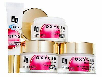 AA Oxygen Infusion Retinol Pro A 50+ Day / Night Cream / Eye Cream / Serum
