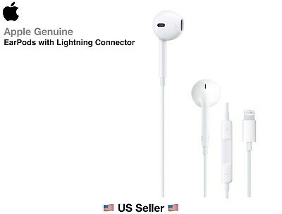 Apple Lightning EarPods Headphones for iPhone 7 8 Plus XR XS Max 11 Pro Original