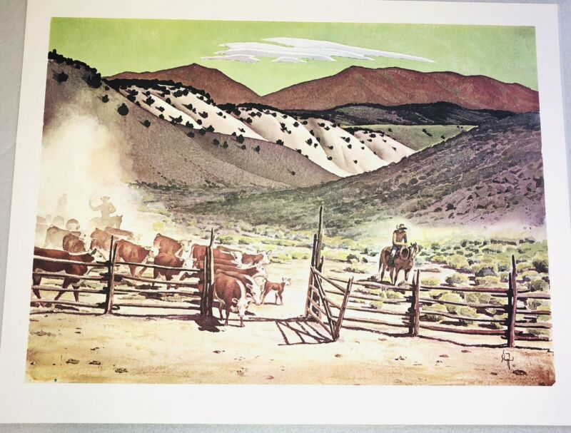 Vintage Signed Craig Sheppard NV Collection Prints 8 Rare Perfect Condition 1971