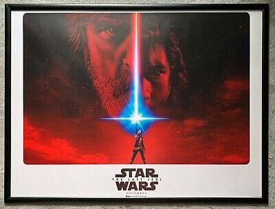 Star Wars -The Last Jedi Original Quad Poster