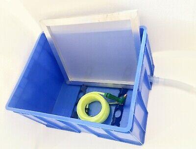 Intbuying Screen Printing Washout Booth Tank Screen Washing Booth 26x20x15