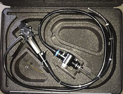 Olympus Cf-130s Flexible Video Sigmoidoscope Endoscope W Case